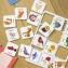 КЕНГУРУ Логічні ігри Підбирай за змістом 24 картки КН918003У 2