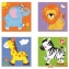 Пазл-кубики вертикальний Сафарі Viga Toys 50834 2