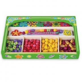 Набір для творчості Намисто Квіти Viga Toys 52730