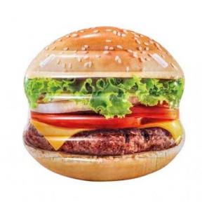 Плотик надувний Гамбургер Intex 58780