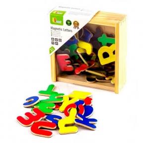Магнітні літери 52 шт Viga Toys 50324