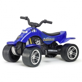 Квадроцикл синій Falk New Holland 611