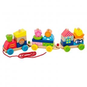 Каталка Поїзд Viga Toys 50089