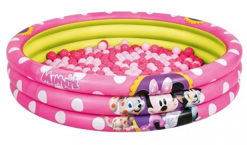 Басейн надувний Minnie 75 кульок 122х25 см Bestway 91069