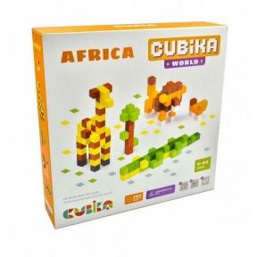 CUBIKA Дерев'яний конструктор Cubika World Африка 15306