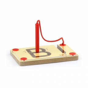 Набір для написання магнітних букв Заголовні Viga Toys 50337