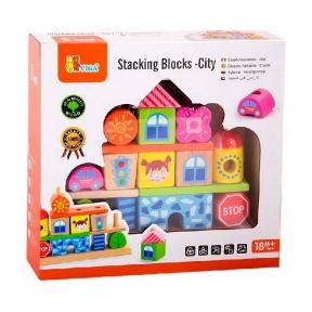 Набір кубиків Місто Viga Toys 50043