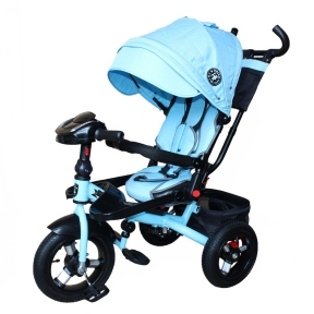 Bелосипед триколісний Mini Trike T400-17 Jeans
