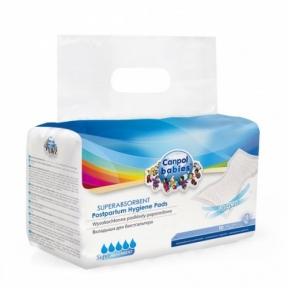 CANPOL Прокладки гігієнічні післяпологові 10 шт 73/003