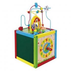 Розвиваючий центр Цікавий кубик Viga Toys 58506