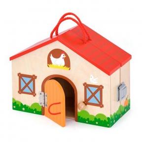 Іграшка Дерев'яна ферма Viga Toys 51618