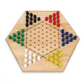 Настольна гра Китайські шашки Viga Toys 56143
