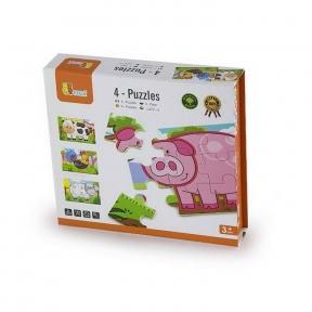 Набір пазлів Ферма 48 ел Viga Toys 50069