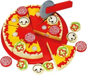 Піца дерев'яна на липучках Bino 83412