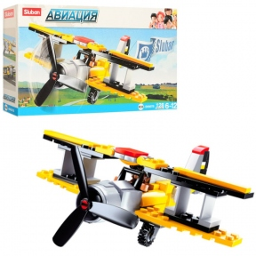 SLUBAN Конструктор Авіація Літак 120 ел M38-B0667B