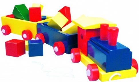 Поїзд великий кольоровий Bino 82141