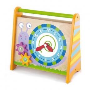 Розвиваюча іграшка Годинник Viga Toys 50063