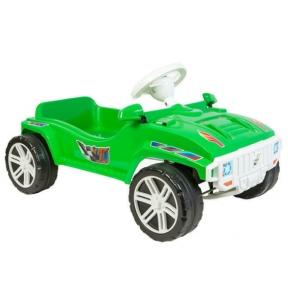 Машина з педалями салатова Оріон 792-4