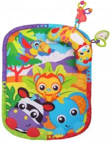 PLAYGRO Розвиваючий килимок Зоопарк з подушкою 0186988