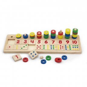 Розвиваюча гра Цифри і рахунок Viga Toys 59072