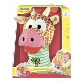 BEBELINO Моя перша інтерактивна маріонетка Жирафа 58017