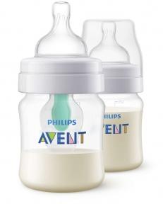 AVENT Пляшка для годування Classic Anti-Colic Air Free 125 мл SCF810/24