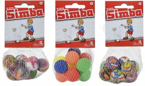 SIMBA Набір кульок-попригунчиків у сітці 10 шт 28 мм 7358168