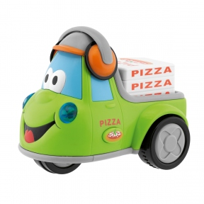 CHICCO Іграшка iнерцiйна Funny Pizza 69006.00
