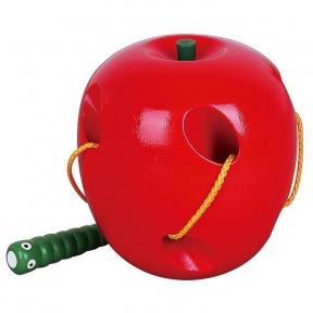 Шнурівка Яблуко Viga Toys 56276