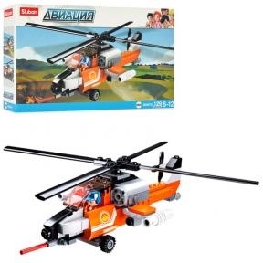 SLUBAN Конструктор Авіація Гелікоптер 129 ел M38-B0667D