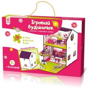 ЗІРКА Будиночок кольоровий ігровий 120336