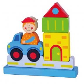 Магнітний пазл Місто Viga Toys 59703