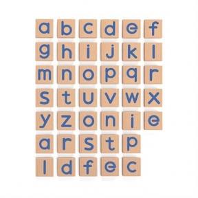 Набір Магнітні букви Малі 40 шт Viga Toys 50590