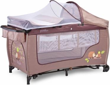 Ліжко-манеж Caretero Grande Plus
