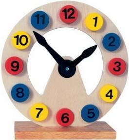 Годинник дерев'яний Bino 84050