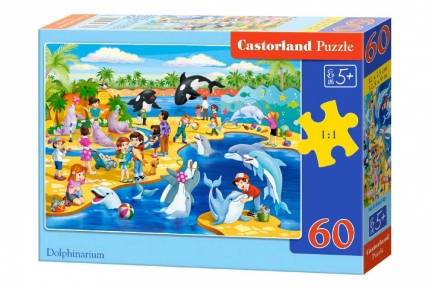 CASTORLAND Пазли 60 Дельфінарій В-066148
