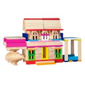 Набір будівельних блоків 250 ел Viga Toys 50956