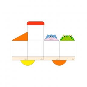 Набір магнітних дошок №7 Viga Toys 50777