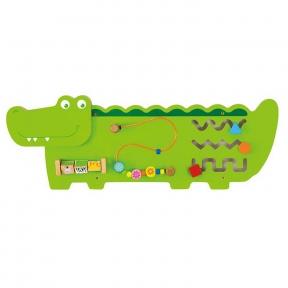 Бізіборд Крокодил Viga Toys 50469