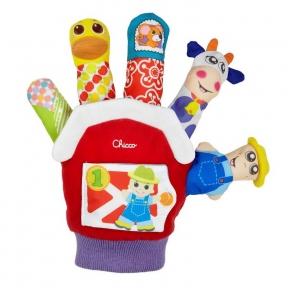 CHICCO Іграшкова рукавичка Ферма 07651.00