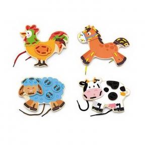 Шнурівка Ферма Viga Toys 51325
