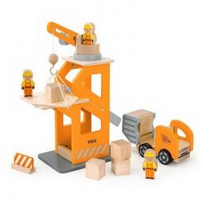 Ігровий набір Будівельний майданчик Viga Toys 51616