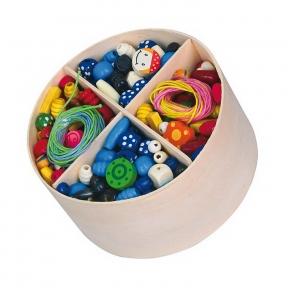 Набір для творчості Дерев'яні намистинки Viga Toys 56002