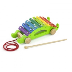 Іграшка-каталка Крокодил Viga Toys 50342
