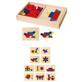 Мозаїка дерев'яна Viga Toys 50029