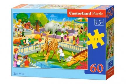 CASTORLAND Пазли 60 Зоопарк В-066155