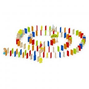 Набір будівельних блоків Viga Toys Доміно 116 ел 51620