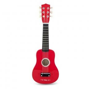 Гітара червона Viga Toys 50691