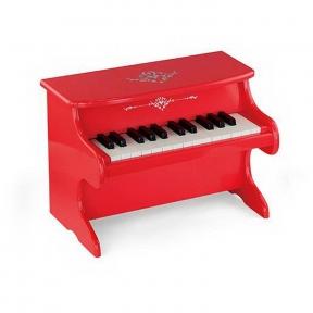 Піаніно дерев'яне червоне Viga Toys 50947