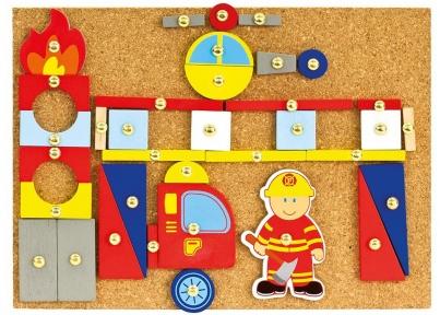Гра з молоточком Пожежники 168 ел Bino 82197